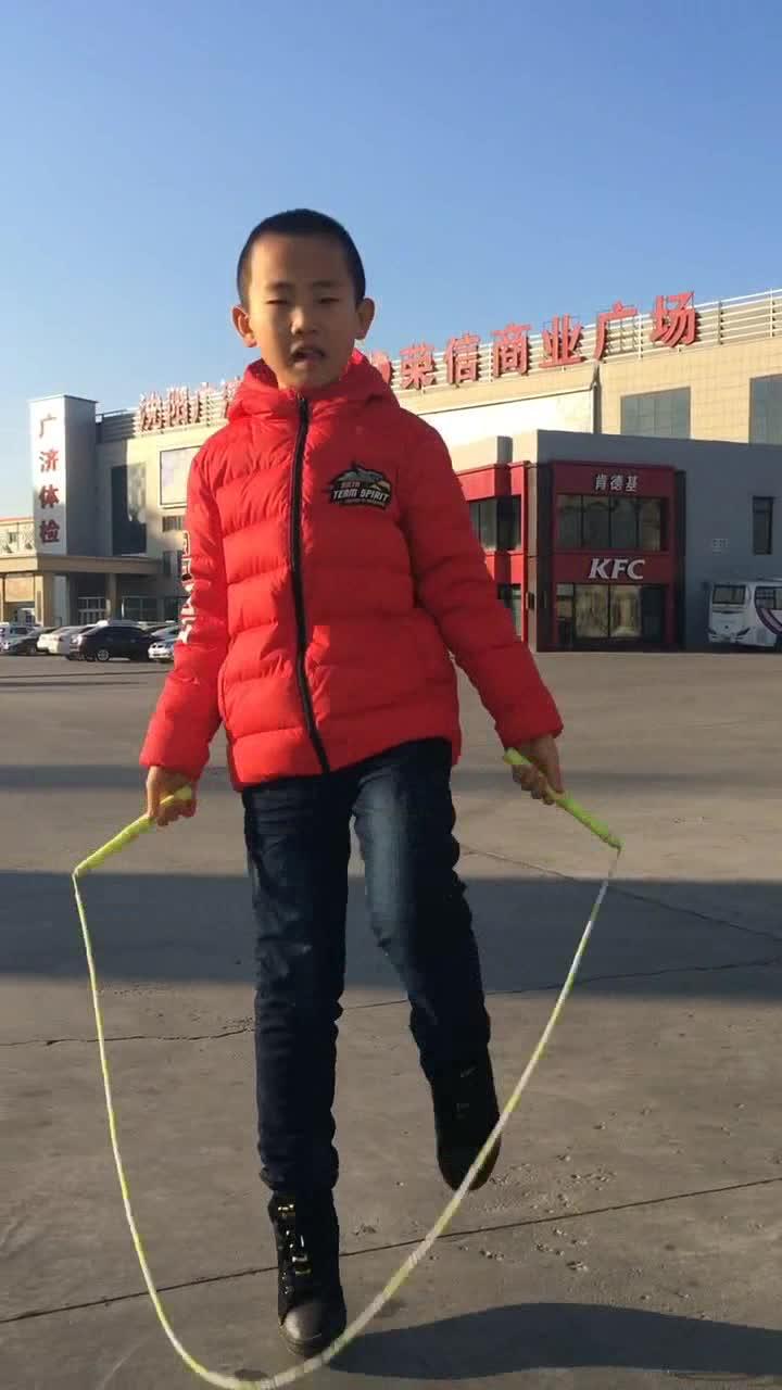 #运动健身#中国跳绳神童,能把你跳傻!吉尼斯纪录