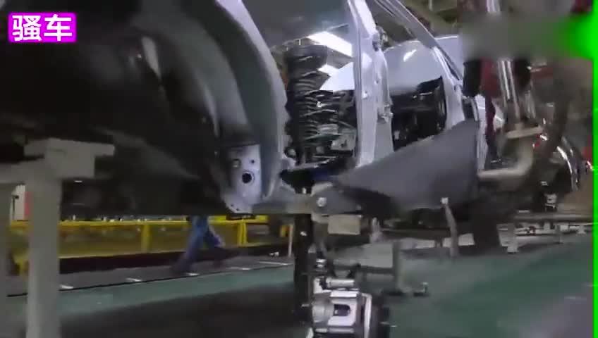 强大 快来看看丰田在美国的汽车流水生产线 从零件到整车