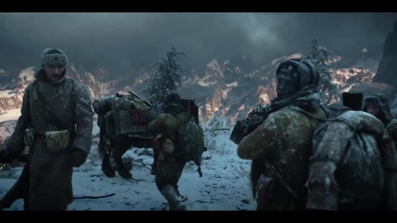 二战时期,地底死亡战士回归人世,与苏联红军展开了一场生死之战
