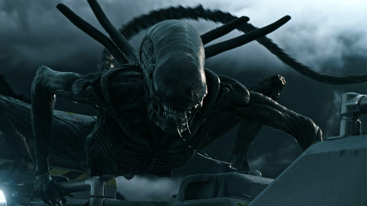 #科幻电影#《异形:契约》2017最恐怖科幻电影:生化人大卫背叛人类