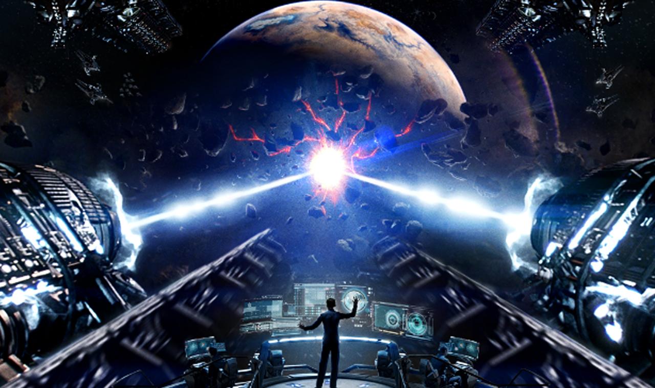 #经典看电影#小孩智商超出同龄人,12岁就当上舰长,成功拯救了地球!