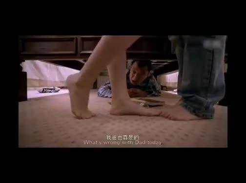 老人藏在床底下偷听女儿女婿亲热,香艳