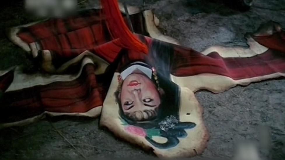 #电影、影视、恐怖#66年版《画皮》,当时被禁播恐怖片,现在看依然有童年阴影