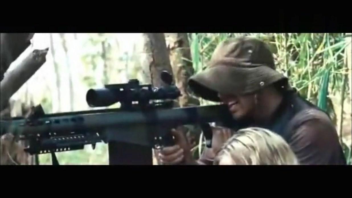 一挺50重机枪配一把50重狙,狂扫十几秒,一个连的士兵没了