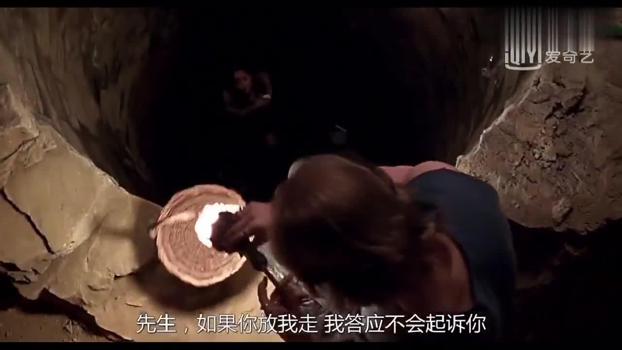 #影视精彩欣赏#这个罪犯太变态了,把女子囚禁在枯井里这样折磨