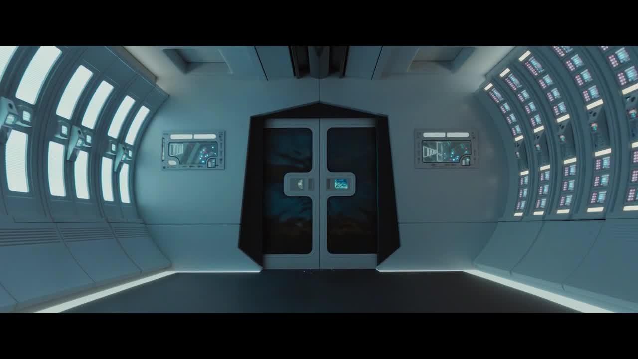 外星人直接入侵飞船,男主等人无能为力,只能让外星人夺走碎片