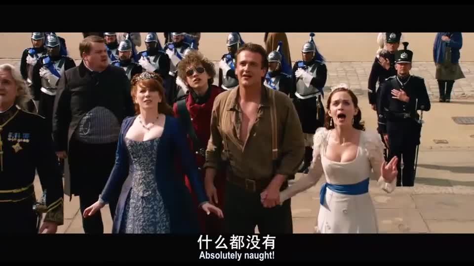 #经典看电影#小人国准备两国交战,不料男子一首歌边唱边跳,两国立马就和平了