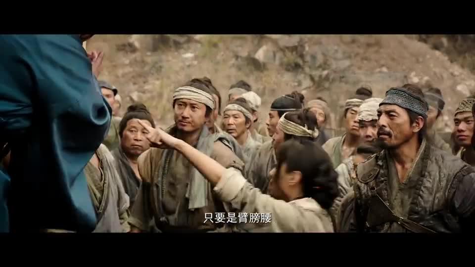 #经典看电影#官府在地方征兵,不料男子一席话,本要参军的人都不去了