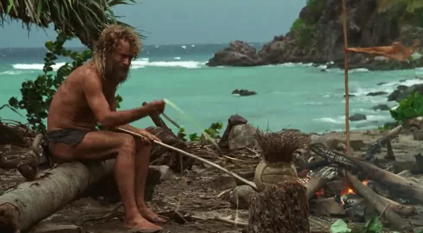 #经典看电影#男在坠落荒岛,靠一个排球度过了4年寂寞的日子