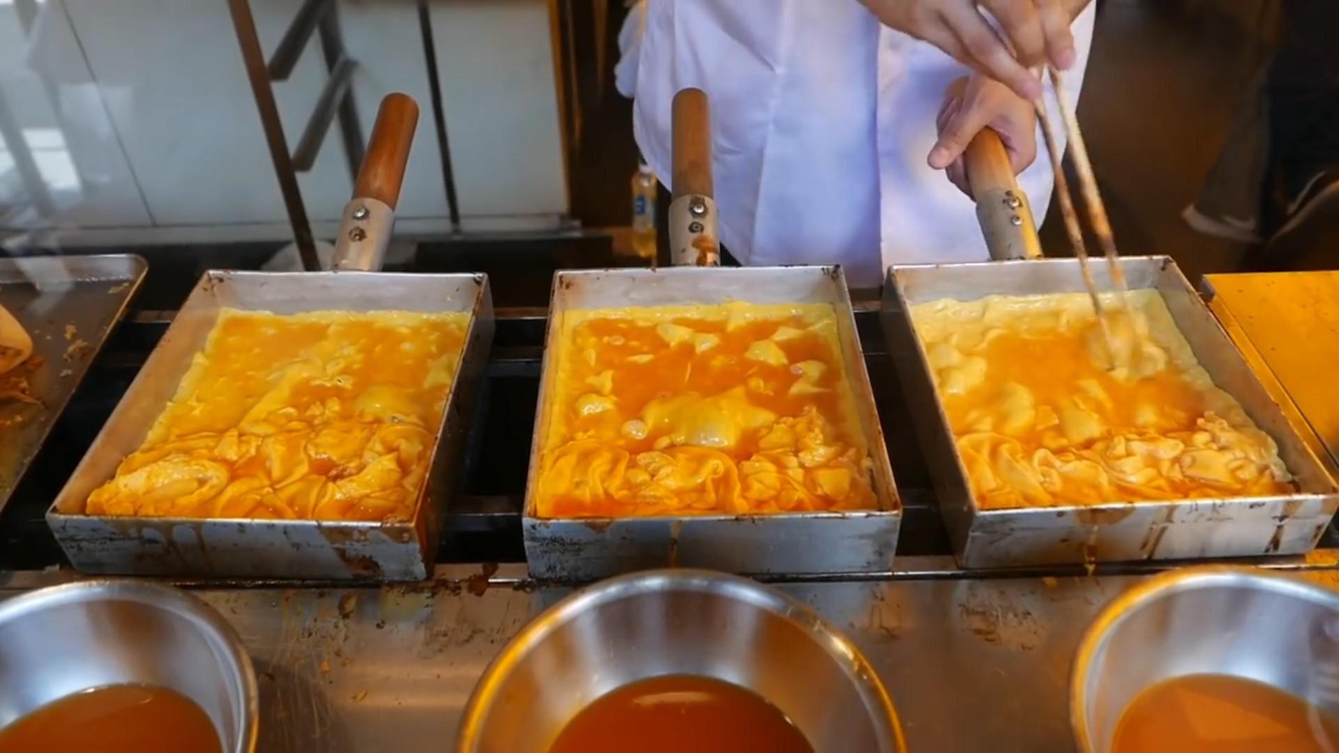 #日本小吃#日本小吃 - 东京 玉子烧 - 煎蛋卷看着就想咬一口