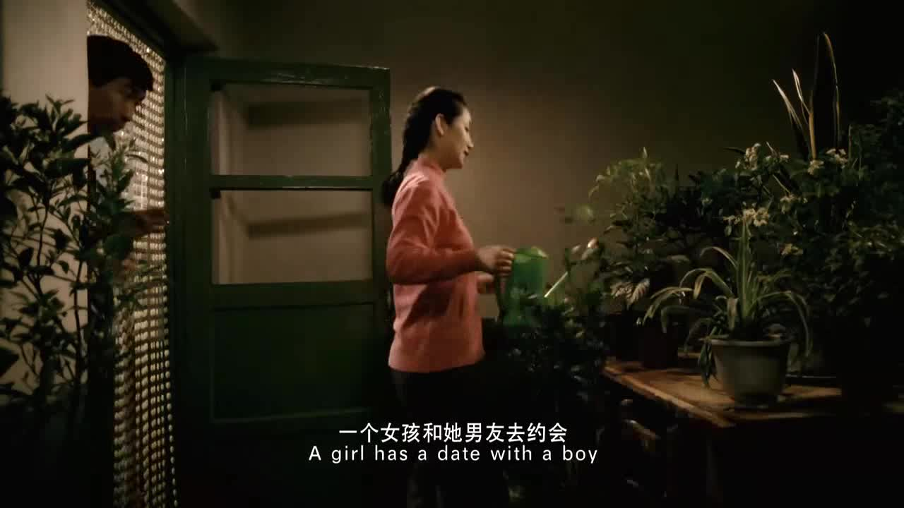 秦海璐硬是把这恋爱中的女子演出了水一样的柔情啊