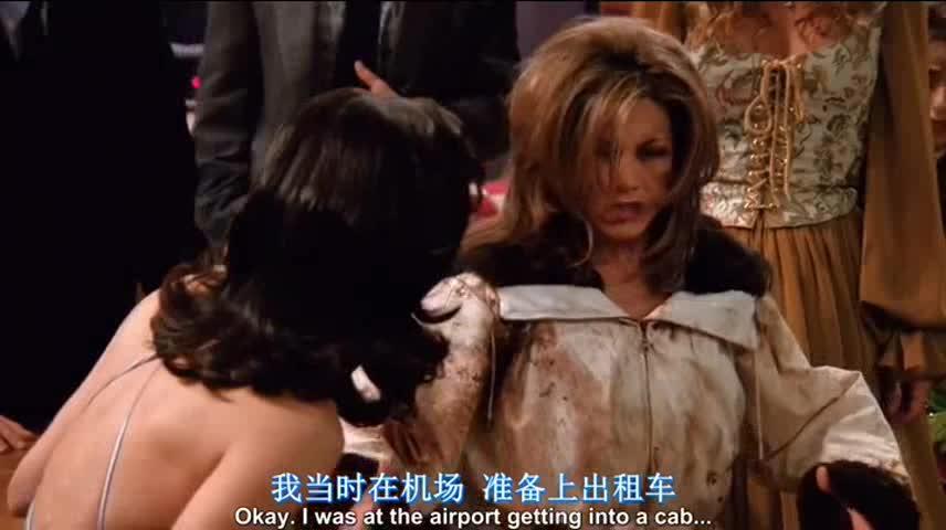 #美剧有毒#老友记中瑞秋出糗的爆笑瞬间,女神形象崩了!