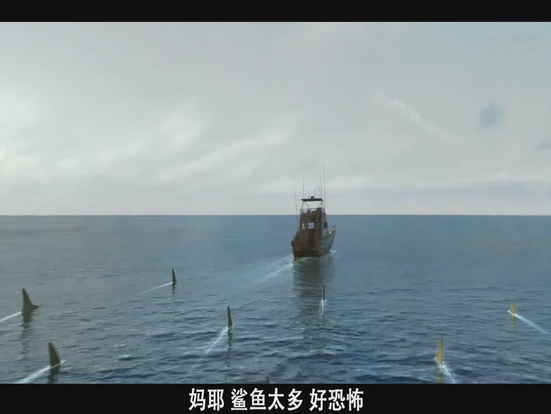 #经典看电影#变异鲨企图控制地球,没想到被女博士抓到,为航天做出伟大贡献!
