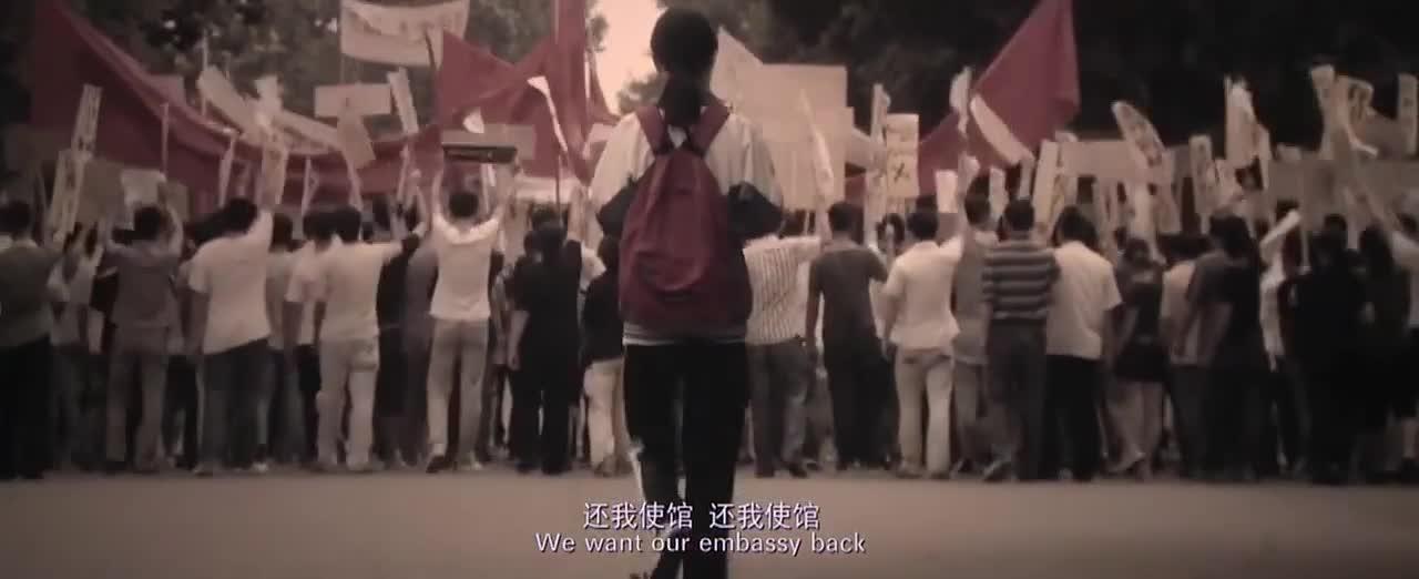 为了国家,学生们都站出来了,这也是他们爱情的开始