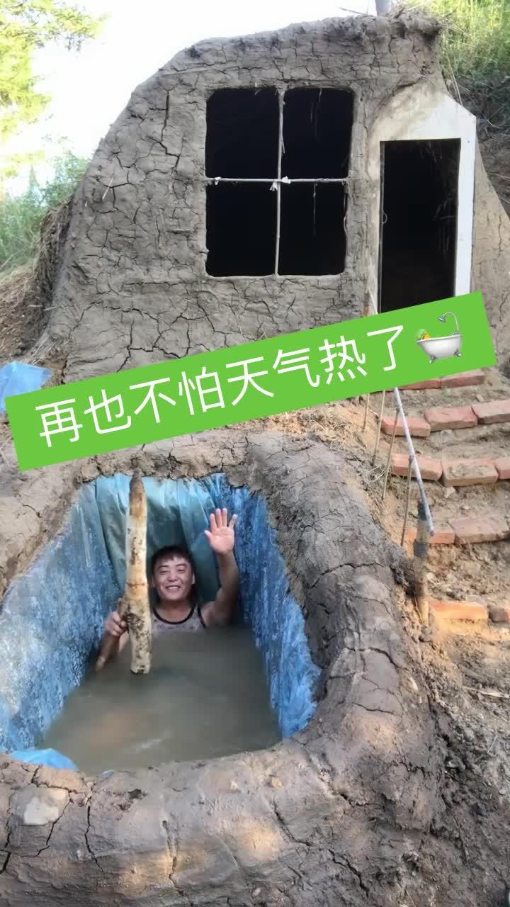 #自建游泳池#网红自建游泳池,如今为了火也是拼了!