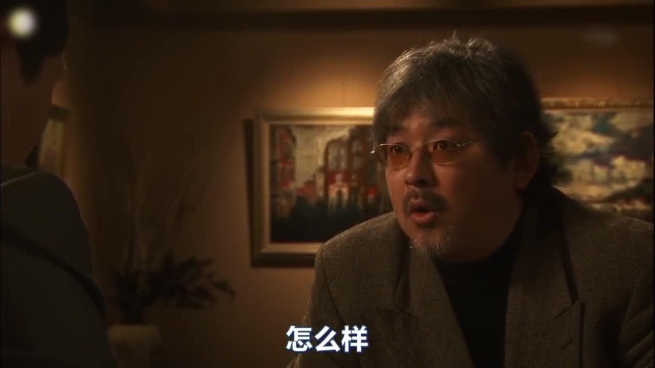 井之头五郎美食家,与画廊社长交谈