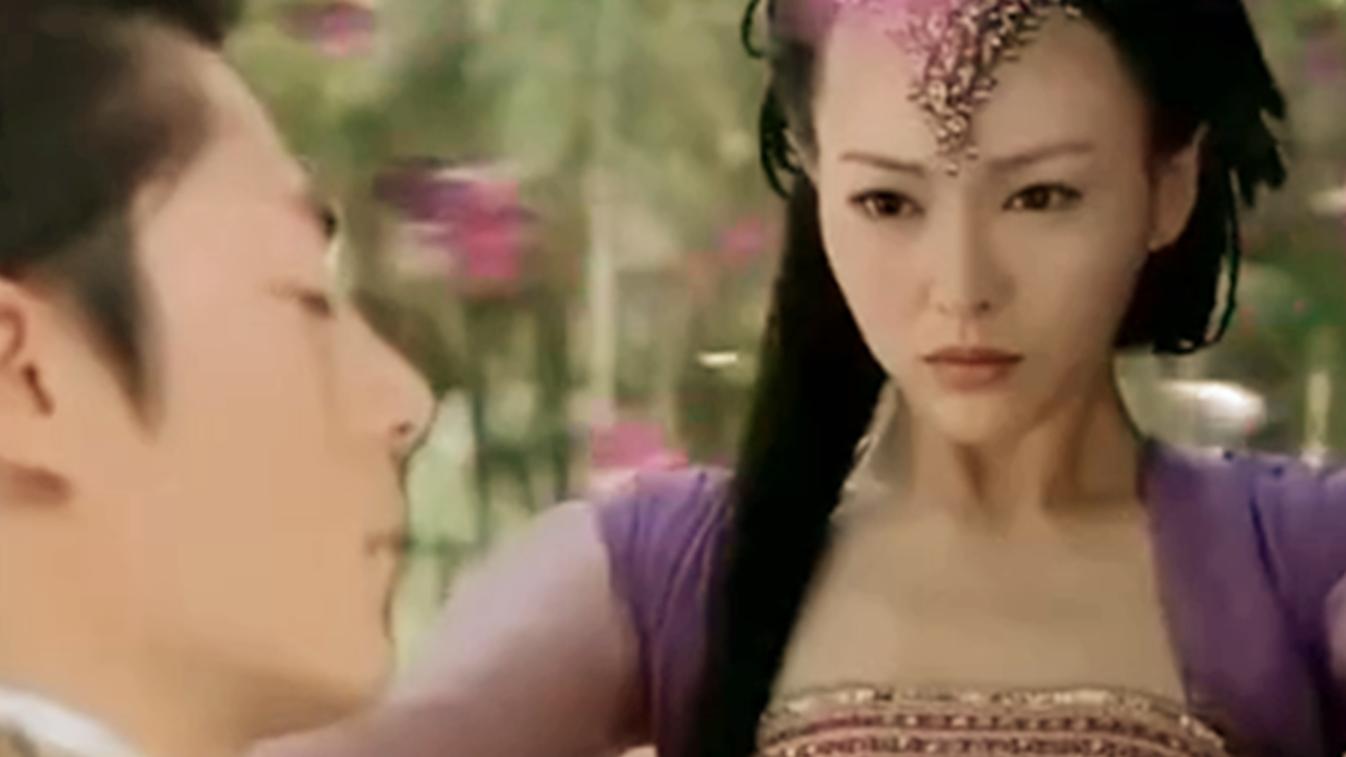 #电影迷的修养#《仙剑奇侠传》白豆腐想起上一世的大地之母紫萱,还生了孩子