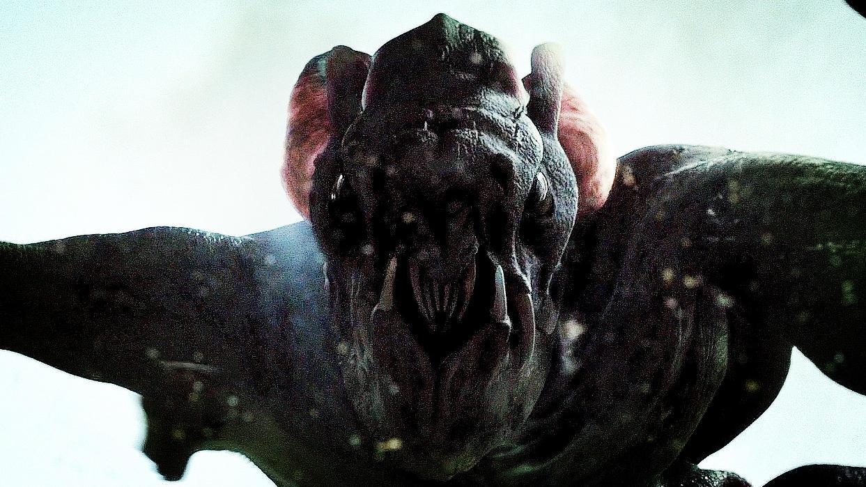 #惊悚看电影#《科洛弗档案》:临近结束的时候 ,你才能一睹怪兽庐山真面目!