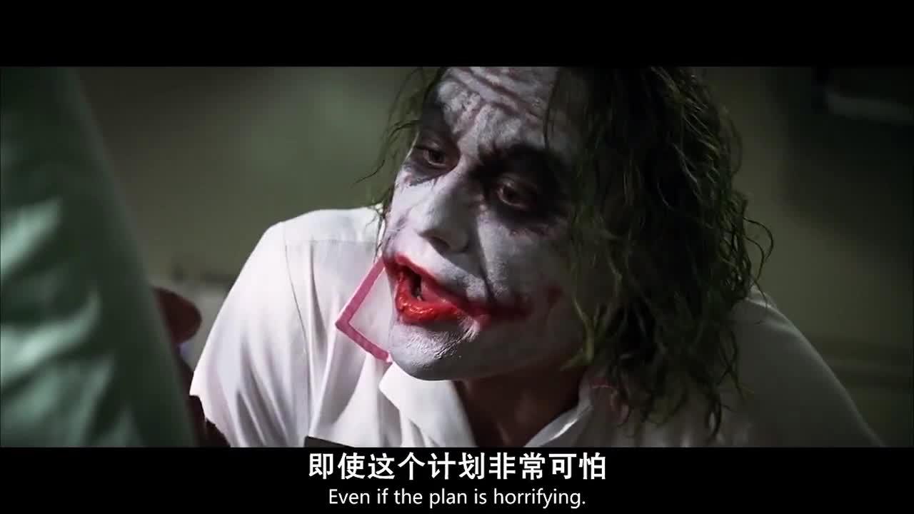 #蝙蝠侠:黑暗骑士#《蝙蝠侠:黑暗骑士》小丑与哈维合作,制造社会恐慌