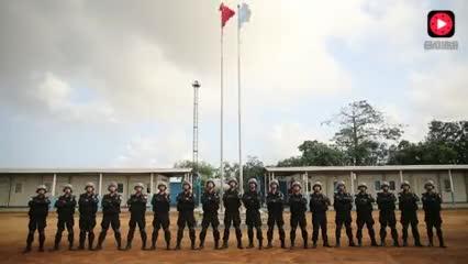 满满的正能量! 中国维和警察喊话吴京 比电影《战狼2》更燃
