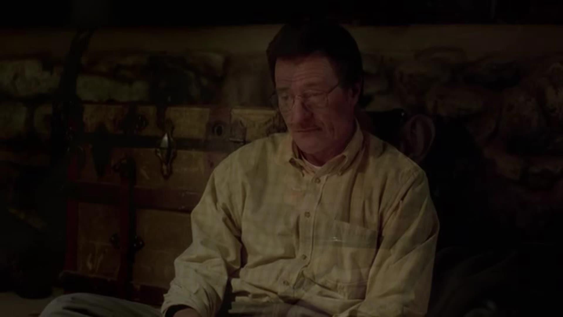 大叔和被关在地下室的人聊天,原来他知晓大叔这个秘密