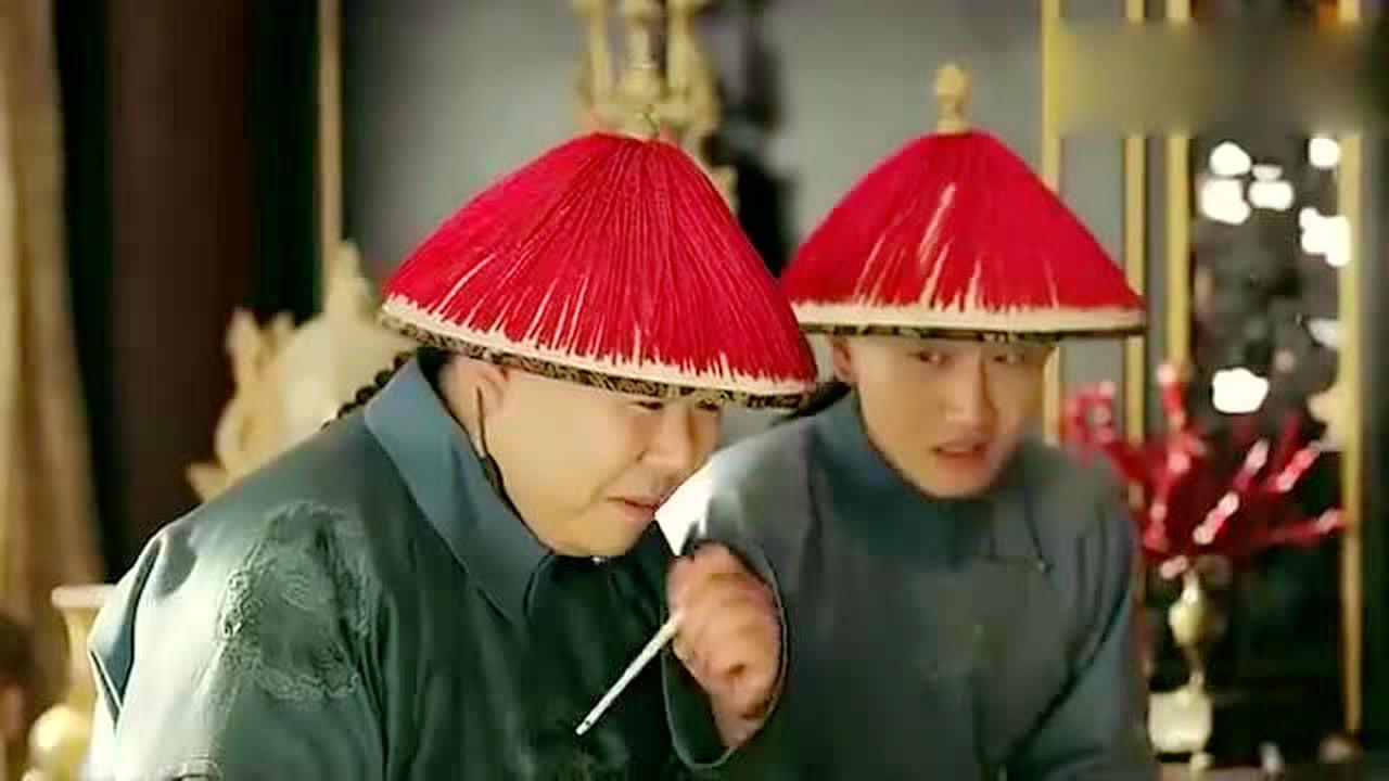 #延禧攻略#皇上魏璎珞一起吃饭,她在他面前夸赞傅恒,被气的不轻