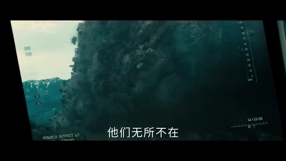 """《哥斯拉2:怪兽之王》(暂译)曝""""并肩作战""""版预告四大怪兽绝美登场"""