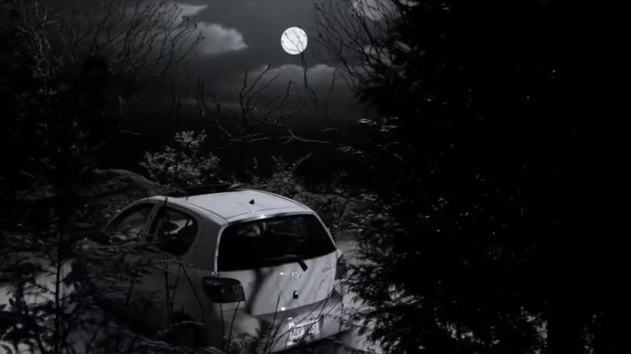 小情侣正准备车震,女孩突然听到怪声,接着恐怖的事情发生了