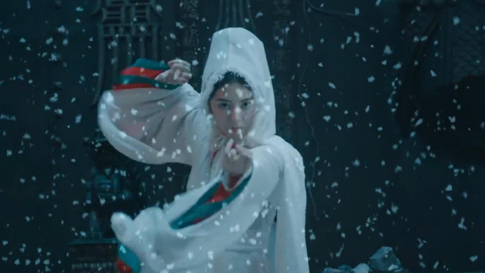 #修仙#女孩死后怨念不化,在地狱变成一个美丽雪女,一部奇幻爱情电影