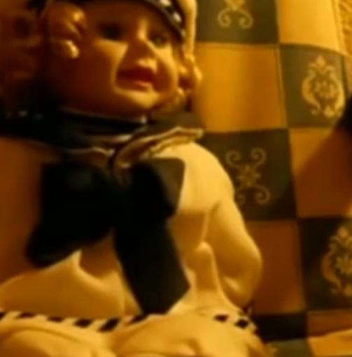 #诡异画面#恐怖! 6个可能被诅咒的玩偶,诡异可怕!