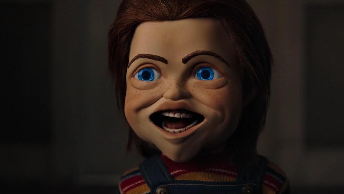 #电影片段#2019最新恐怖片新版《鬼娃回魂》这个安仔娃娃不一般!