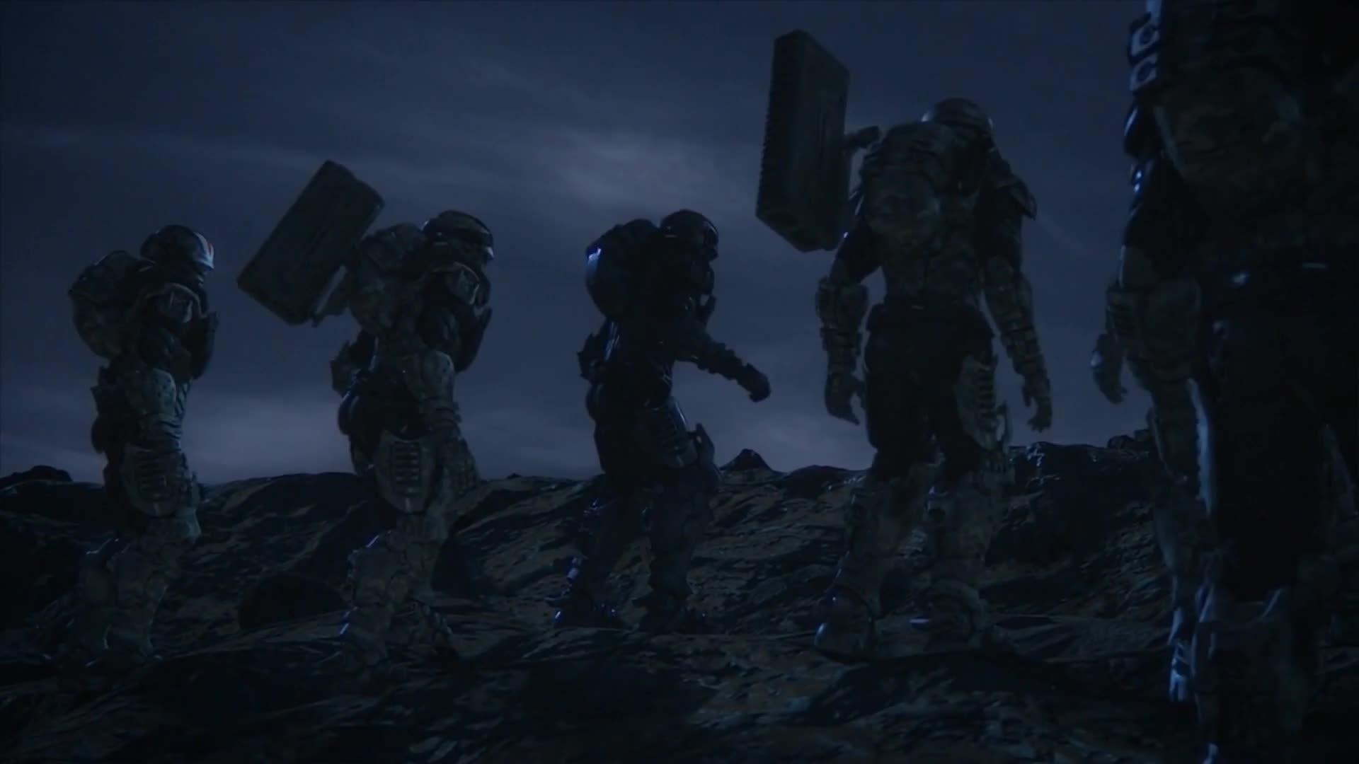 #星河战队#倒放-《星河战队》这核弹的威力不是一般的大