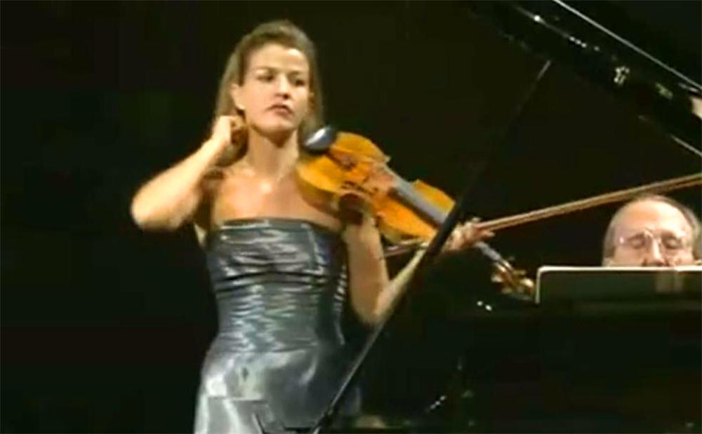 #小提琴奏鸣曲#安妮索菲穆特演绎《贝多芬第五小提琴奏鸣曲 春天》