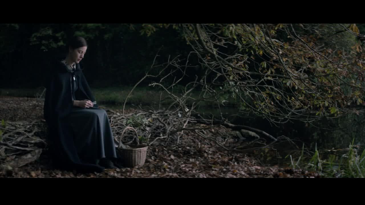 女孩湖边安静读书,竟然看到了这一幕