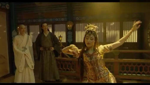 #电影迷的修养#张天爱在电影《妖猫传》里虽然短暂出场,但舞蹈令人印象深刻
