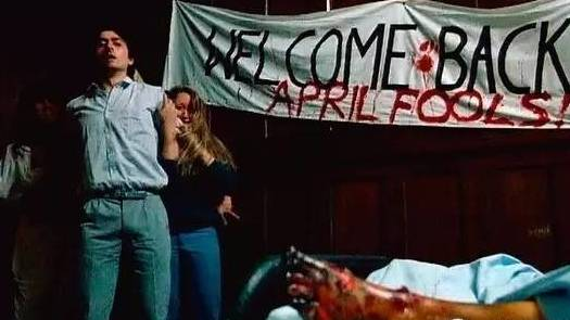 #惊悚看电影#杀戮高校——来自校园衰仔的愚人节复仇