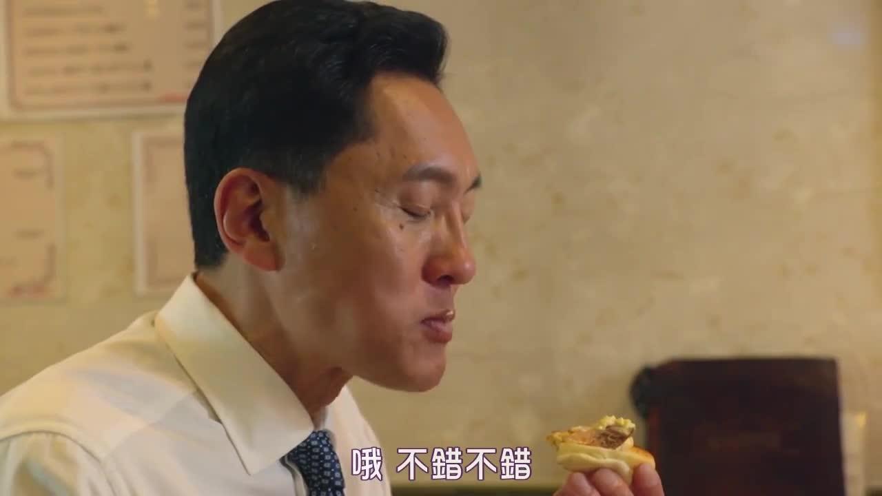 井之头五郎美食家,尝试蟹肉配吐司