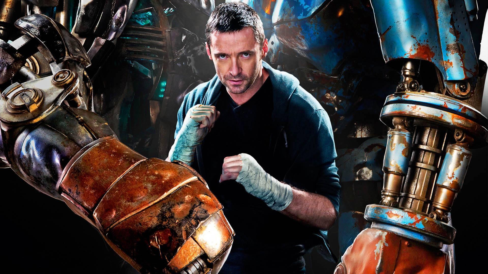 #科幻电影#几分钟看完科幻电影《铁甲钢拳》,看狼叔怎么挑战机器人冠军