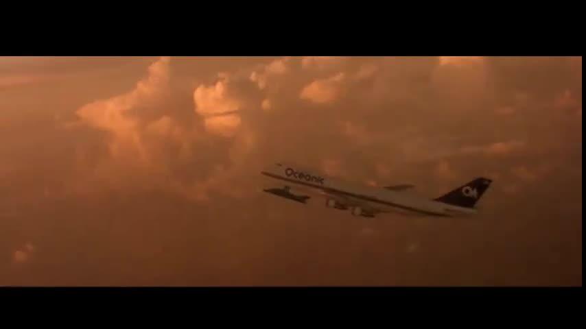 #经典看电影#F-117隐形战斗机对接波音747,绝对冒险动作大片