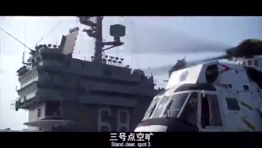 F14雄猫战斗机在航母上降落全过程,精彩震撼