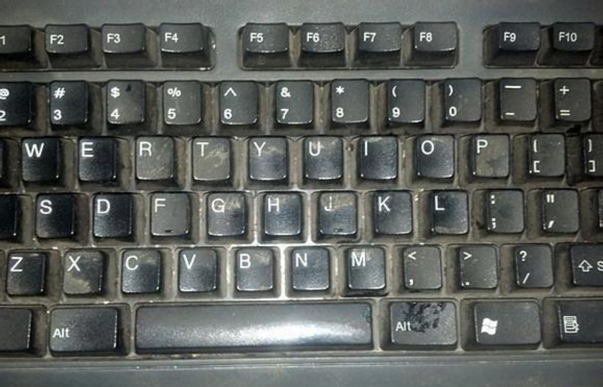 #清洗键盘,机械键盘#键盘用久了没清理,你知道有多脏吗?教你一招让键盘洁净如新