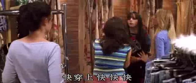 #经典看电影#神奇的牛仔裤!四个不同体型的女生竟然都能穿下它!