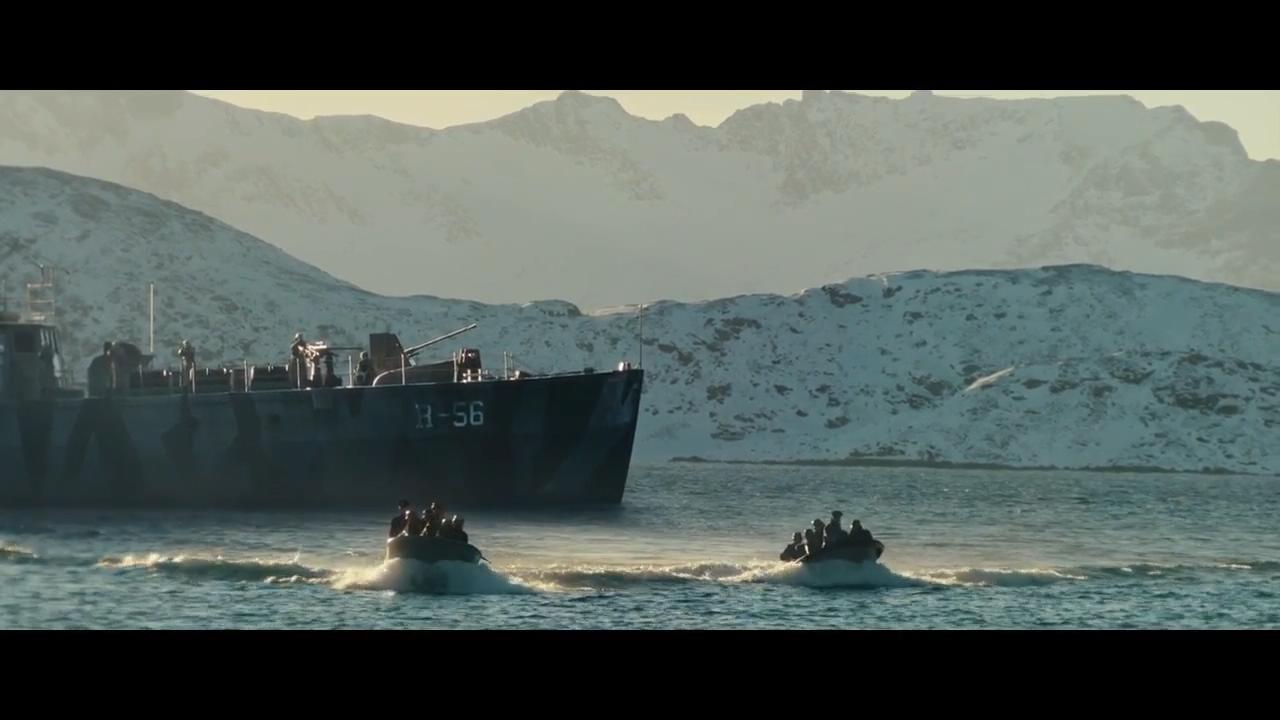 #经典看电影#挪威抵抗组织想炸毁德军码头,还没上岸就被杀得只剩一人