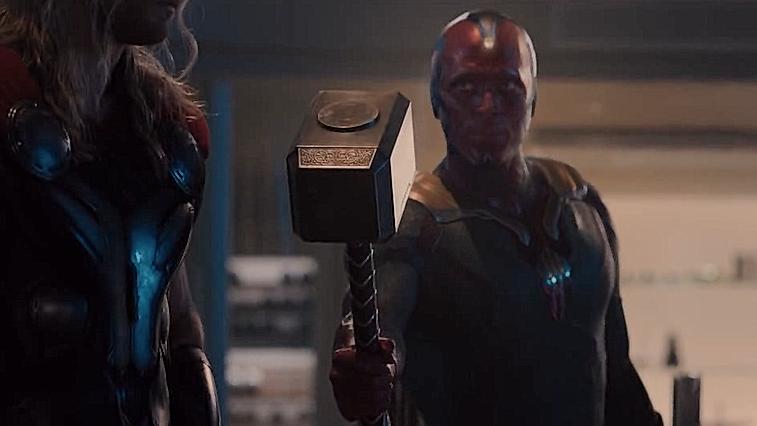 #电影迷的修养#《复仇者联盟》:钢铁侠新型战甲诞生,只有他能拿起雷神的锤子!