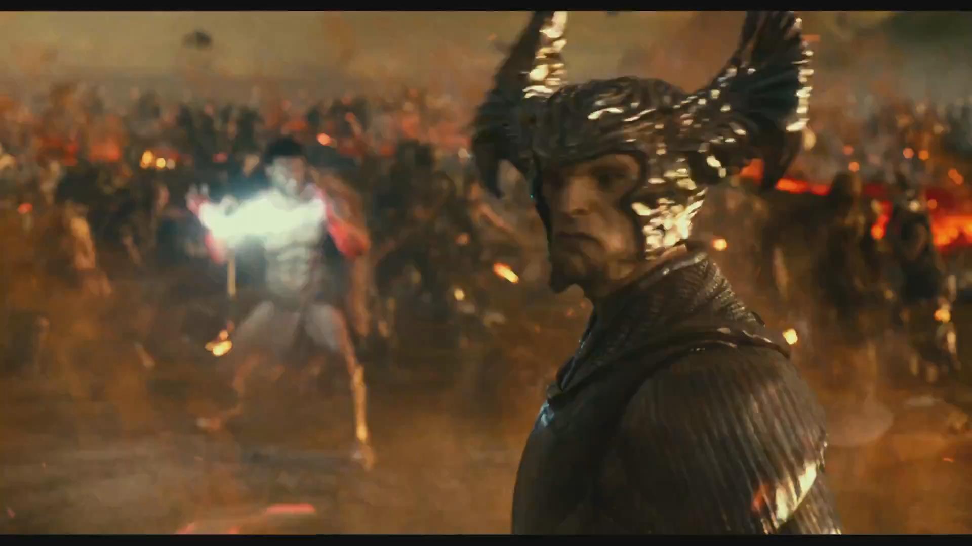 宙斯对战荒原狼《正义联盟》最新电视版预告之激战篇