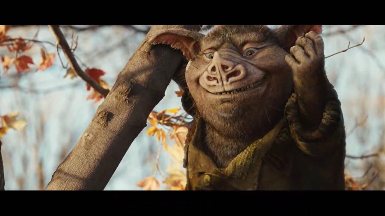#经典看电影#会上树的猪凭借捕鸟技能,击败大魔王,为全家人报仇,拯救妖界!