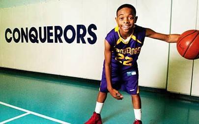 美国11岁篮球神童戴蒙哈根训练视频! 天才都是训练出来的!