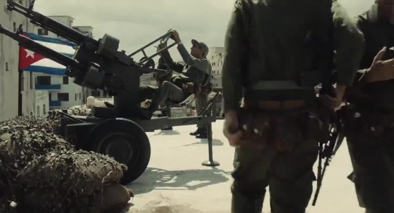 #经典看电影#最新战争片,一个日本人到古巴参军反抗美国侵略,这是什么精神?
