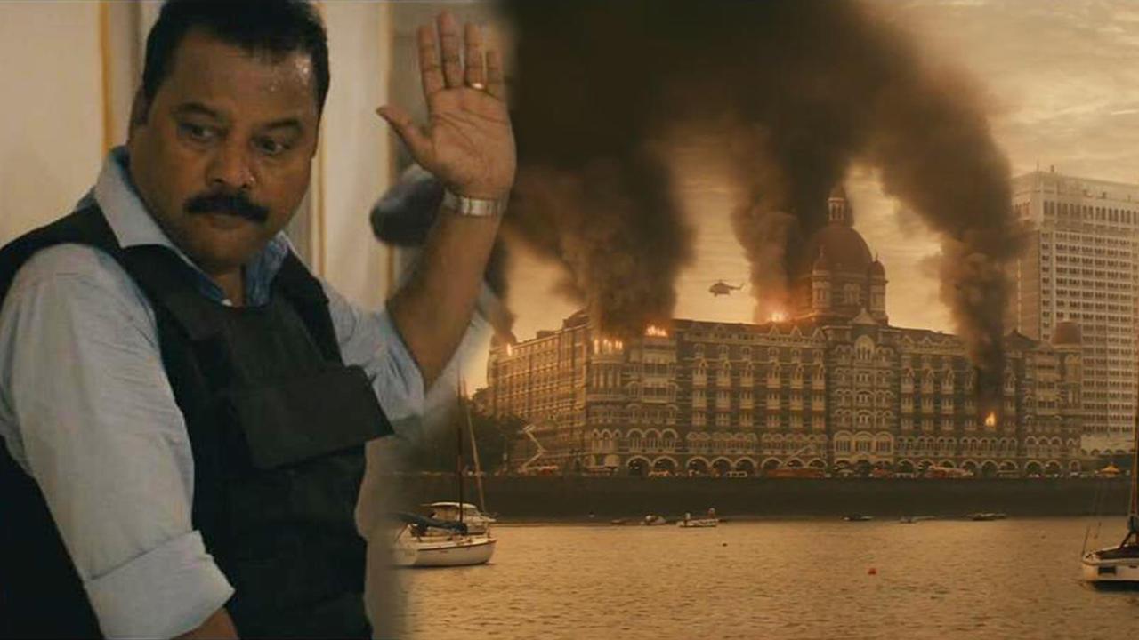 #孟买酒店#真实事件改编的《孟买酒店》,恐怖分子与警方对峙60小时的虐杀