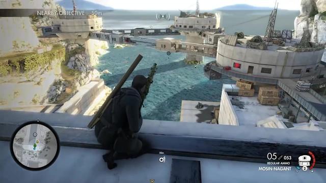 《狙击精英4》DLC 希特勒7种成就杀法